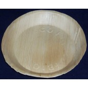 Talerz palmowy okrągły, 18cm