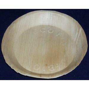 Talerz palmowy okrągły, 18 cm