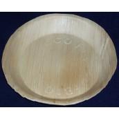 Talerz palmowy okrągły, 22 cm