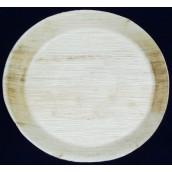 Talerz palmowy okrągły, 24 cm